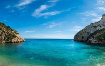 Cala de la Granadella, una de las mejores calas de la Comunitat Valenciana