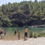La espectacular y escondida poza del río Mijares junto a la población de Fanzara