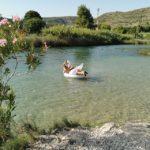 El descenso del río Júcar en Sumacàrcer, una divertida ruta para hacer en flotador