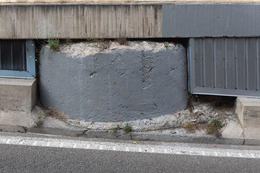 El olvidado fragmento de la muralla cristiana del siglo XIV de Valencia situado en un túnel