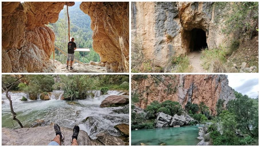 La ruta del Abrigo de Rufino y los Estrechos de Chillapájaros de Montanejos