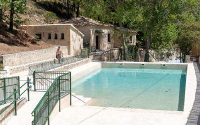 La Piscina del Preventorio, lugar de baño en plena naturaleza con agua natural del río Uxola