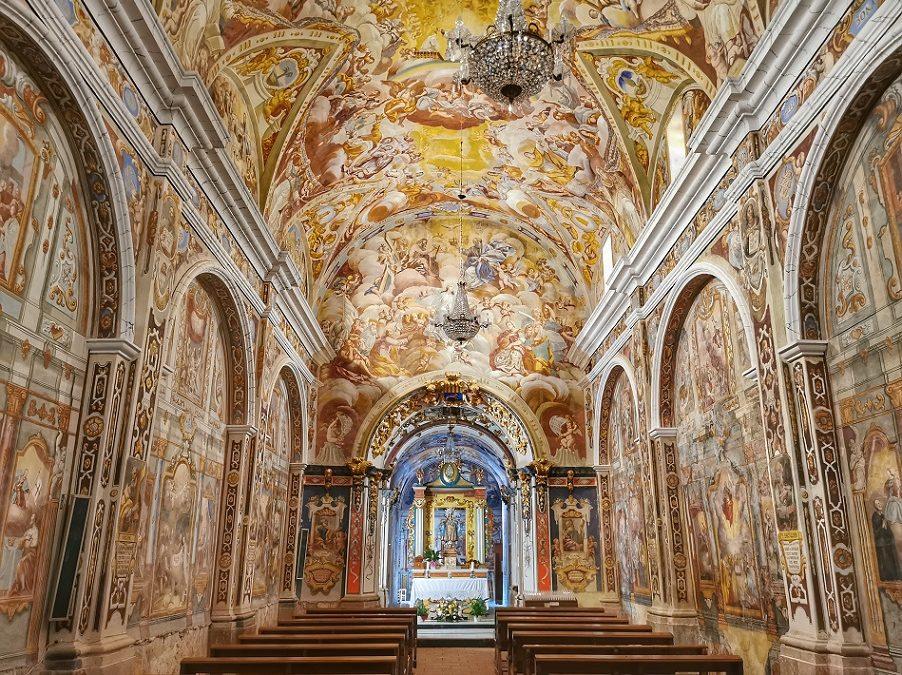 La ermita de la Mare de Déu de L'Avellà, la llamada Capilla Sixtina del Maestrazgo