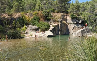 El Pozo de las Palomas, una preciosa zona de baño en la Puebla de Arenoso