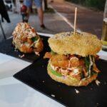 Pizzas, burgers o burritos de sushi en Siena Lounge, un japofusión de Valencia