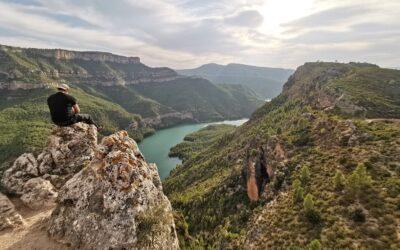 El Castillo de Chirel, un castillo con un impresionante mirador natural en Cortes de Pallás