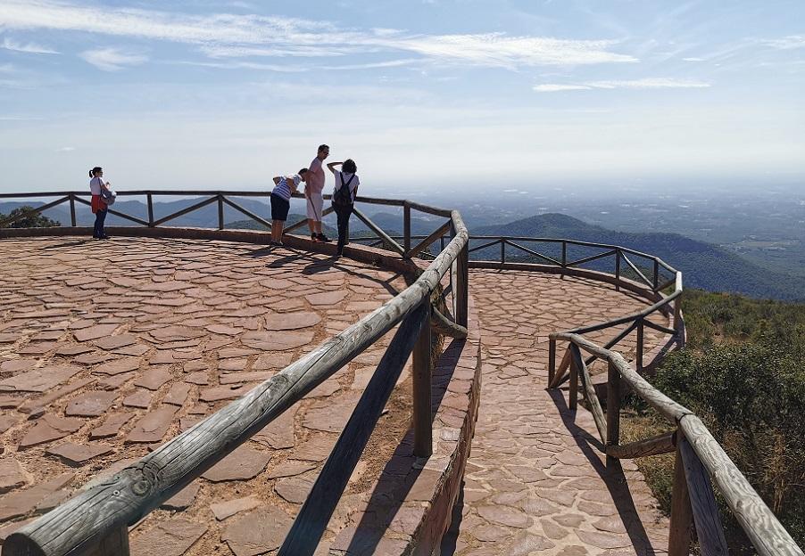 El Mirador de Rebalsadors, uno de los rincones más bonitos de la Serra Calderona
