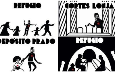 Arte urbano para señalizar la Valencia Republicana