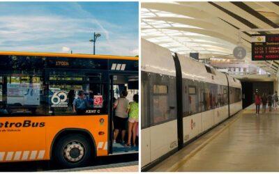 El transporte público de la Generalitat será gratuito para las víctimas de violencia de género y sus hijos