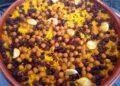 arròs al forn en panses i cigrons. Foto de http://arrossosalforn.blogspot.com/2015/02/arros-al-forn-amb-panses.html
