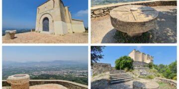 Ermita de Santa Ana, en término de Llosa de Ranes (aunque pertenece a Xàtiva). Foto valenciabonita.es