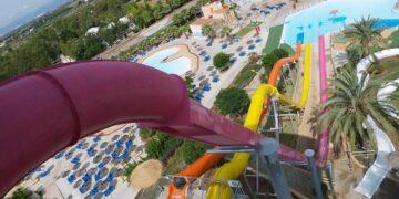 Parques acuáticos en la Comunitat Valenciana en 2021. Foto de Aquarama Benicassim.