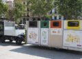 plataforma móvil recogida basura Ciutat Vella Valencia