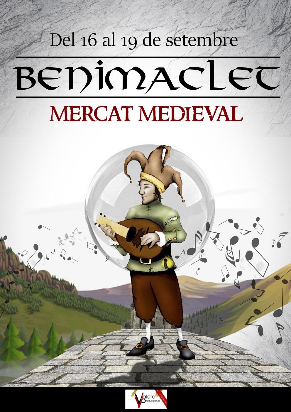 Mercado medieval en Benimaclet del 16 al 19 de septiembre de 2021