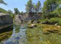 Foto del Pozo Vidal, una poza del Río Villahermosa. Foto valenciabonita.es